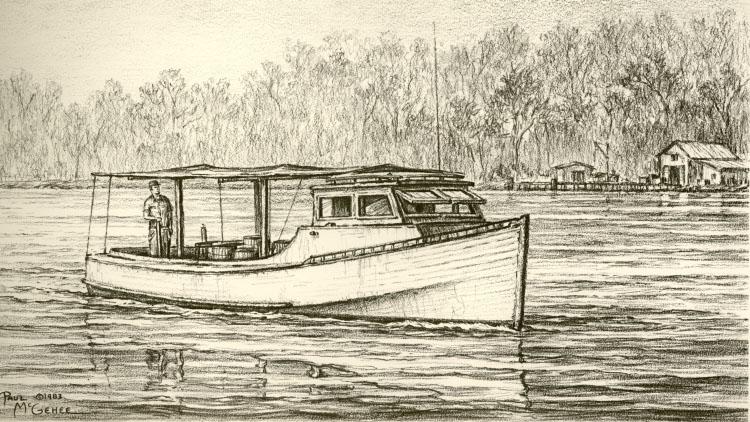 Chesapeake Bay Crab Boat
